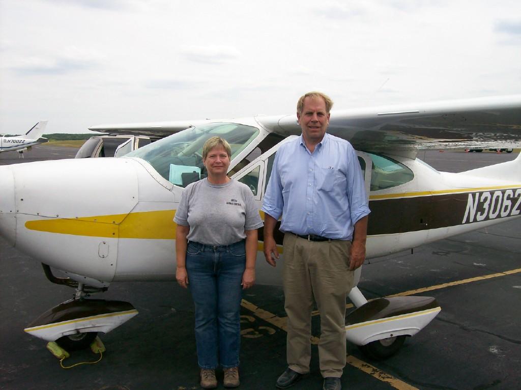 Cindy and Pilot Bob